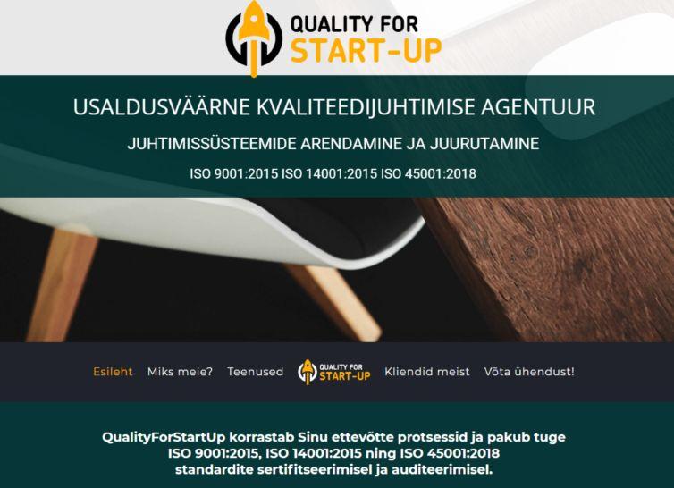 QualityForStartUp veebitekstid